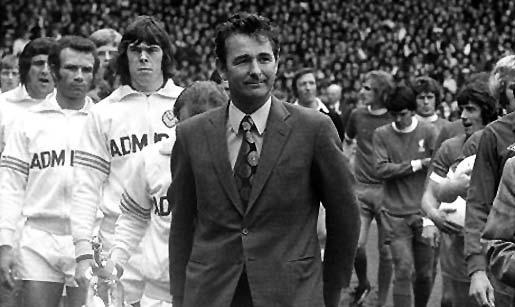 Brian Clough con el Leeds